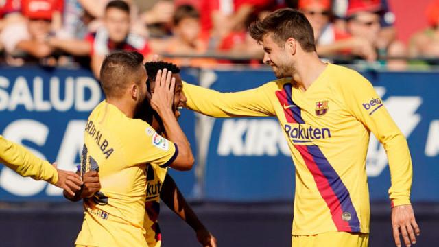 Osasuna 2 - 2 Barcelona