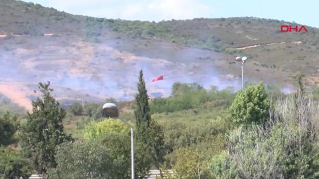 Tuzla Piyade Okulu'nda yangın