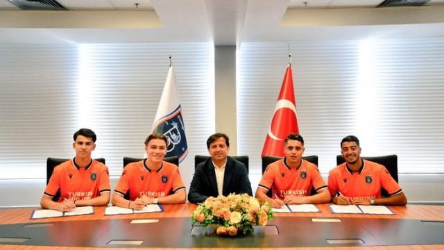 Medipol Başakşehir altyapıya 4 futbolcu transfer etti