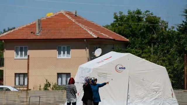 Denizli'de deprem sonrası camilerden yapılan anons dikkat çekti