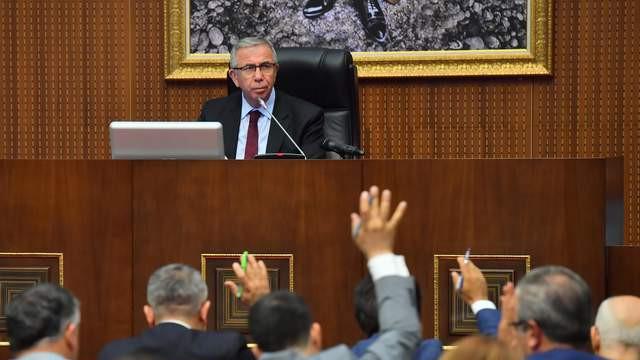 Mansur Yavaş: ''Kar etmedik tasarruf ettik, bütçe fazlası verdik''