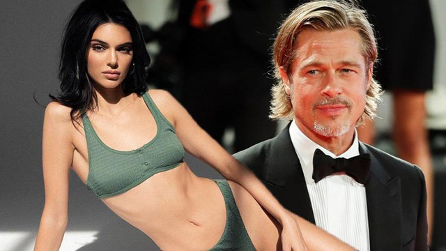 Kendall Jenner'dan ilginç Brad Pitt itirafı