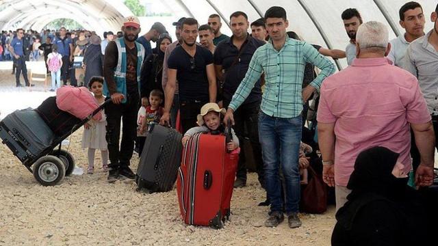 Türkyie sınırına 1 milyon Suriyeli daha geldi !