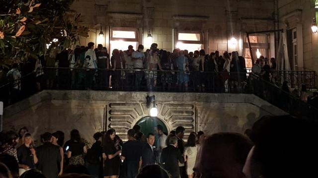 Bienal açılışında Osman Kavala eylemi
