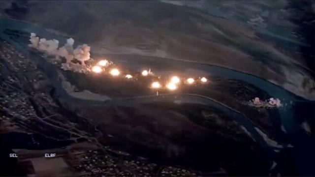 ABD 36 ton bombayla vurdu