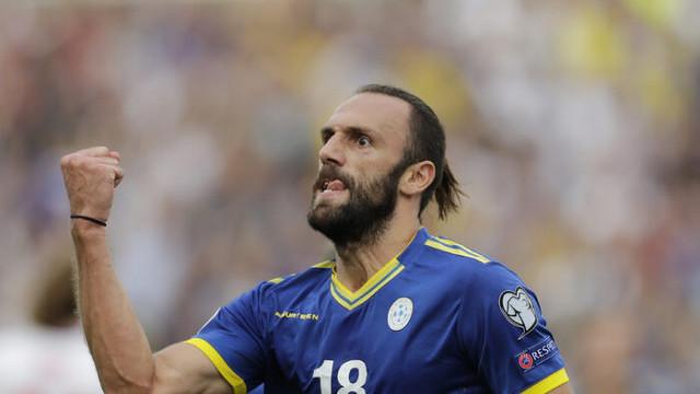 Fenerbahçeli yıldız Vedat Muriç'i Tottenham yetkilileri izledi