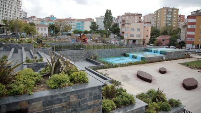 Kartal'da Cevizli Meydanı açılış için gün sayıyor