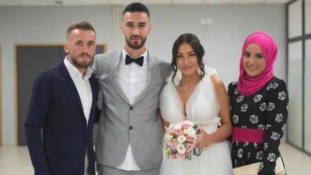 Konyasporlu Bajic evlendi
