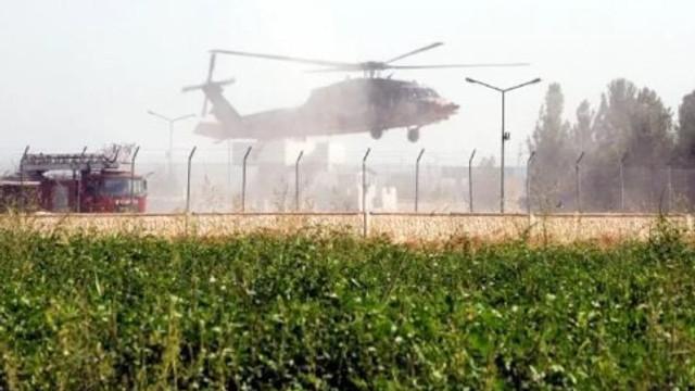 Şanlıurfa'da helikopter hareketliliği