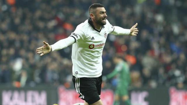 Beşiktaş, Burak Yılmaz'ın durumunu açıkladı