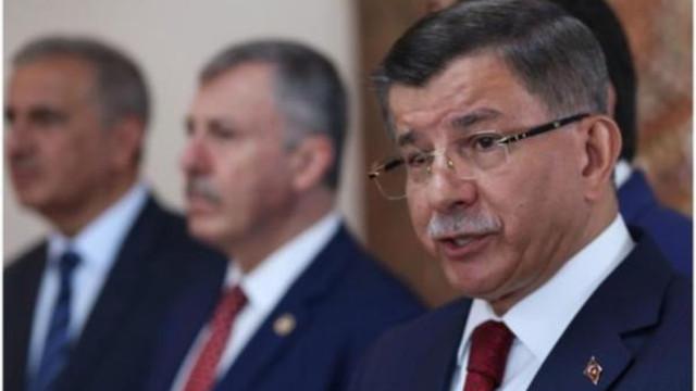 AK Parti'den Davutoğlu'nun istifasına ilk yorum