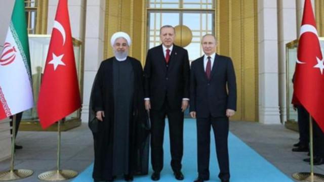 Putin ve Ruhani ''üçlü zirve'' için Ankara'ya geliyor