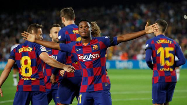 Barcelona 5 - 2 Valencia (La Liga)
