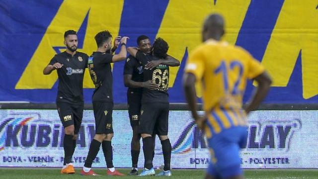 Ankaragücü 0 - 4 Yeni Malatyaspor