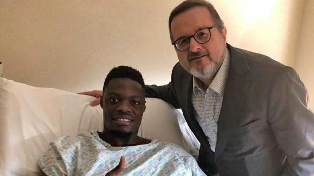 Ameliyat olan Caleb Ekuban 2 ay sahalardan uzak kalacak