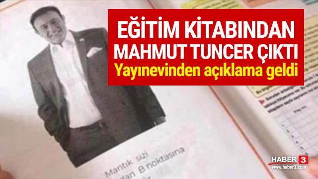Eğitim kitabından Mahmut Tuncer çıktı !