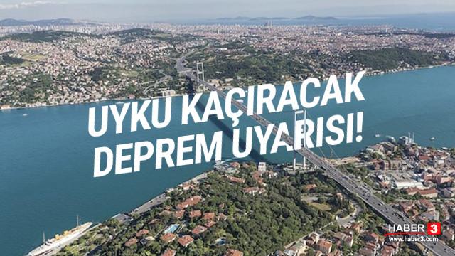 İstanbul ve Ankara için korkutan deprem uyarısı