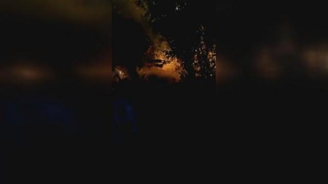 Beykoz'da askeri alanda orman yangını