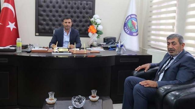 MHP'li başkandan HDP'ye dikkat çeken ziyaret