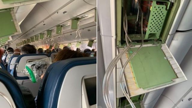 Havada büyük panik! Yolcu uçağı 9 bin metre boyunca düştü