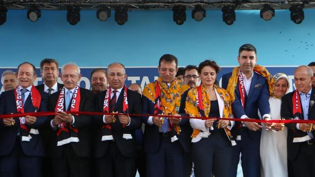 Kılıçdaroğlu, İmamoğlu ve Yüksel Kastamonu Tanıtım Günleri'nde