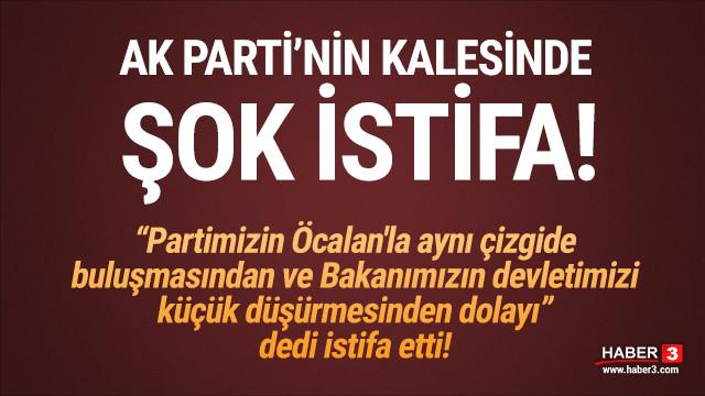 AK Parti'nin kalesinde bir Davutoğlu istifası daha!
