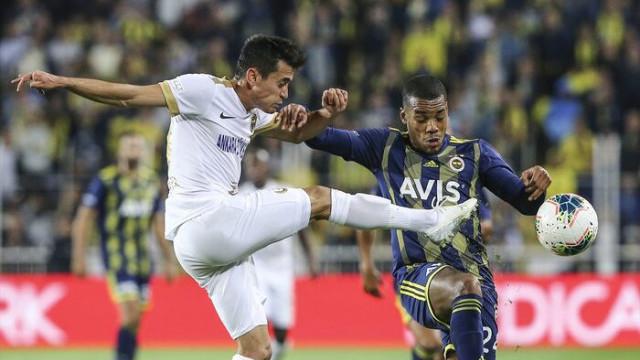Fenerbahçe - Ankaragücü maçında Garry Rodrigues sakatlandı