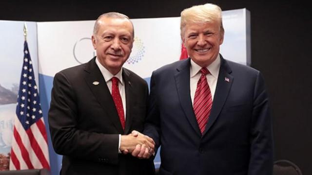 Erdoğan, Trump'la telefonda görüştü