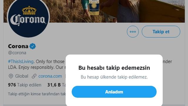 Twitter'da bir garip sansür! Alkol markalarını takip etmek yasaklandı