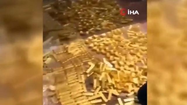 Belediye başkanının evinden 13.5 ton altın bulundu
