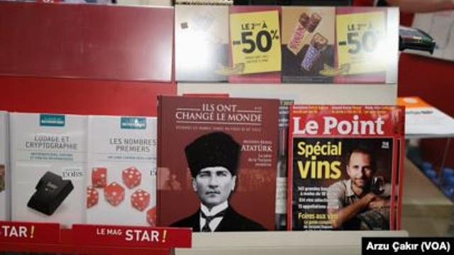 Fransa'da yayınlanan Atatürk konulu dergi yok sattı