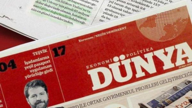 Dünya gazetesi el değiştirdi; çalışanlar gazeteye ortak oldu