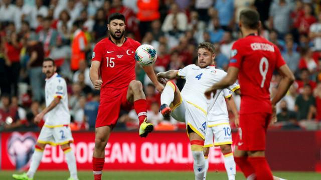 Türkiye 1 - 0 Andorra