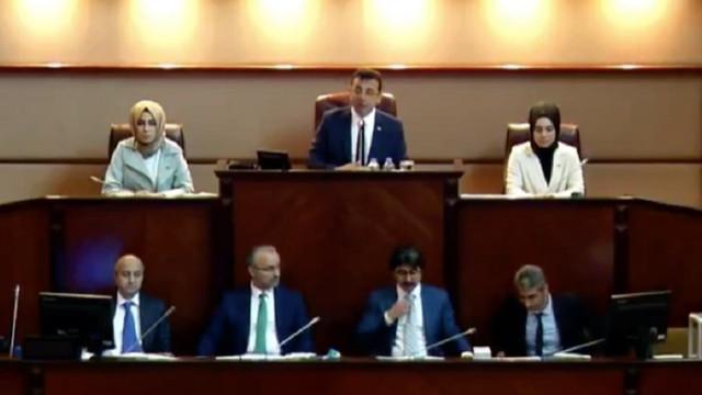 İBB Meclisi'nde tartışma: ''Gezi Direnişi'' diyeceksiniz