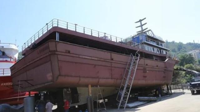 Moritanya ve Gürcistan'ın gemileri Ordu'dan