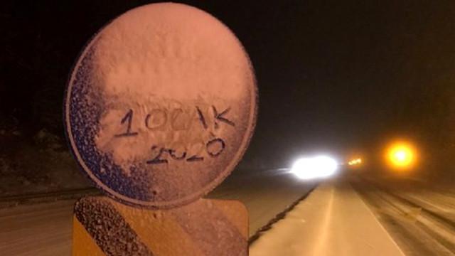 Yola çıkacaklar dikkat ! Kar yağışı etkisini artırdı