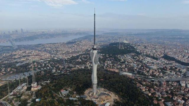 Açılışı 3 yıl geciken Çamlıca TV Kulesi'nin maliyeti ikiye katlandı