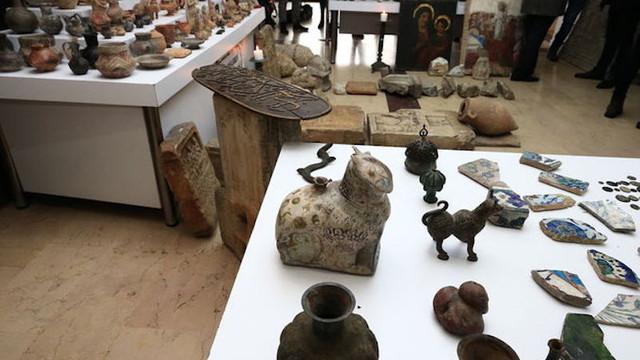İstanbul'da müze dolduracak kaçak tarihi eser bulundu