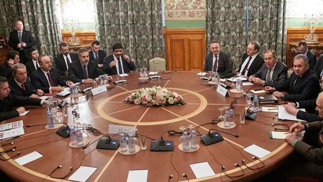 Türk ve Rus heyeti Libya gündemiyle toplandı