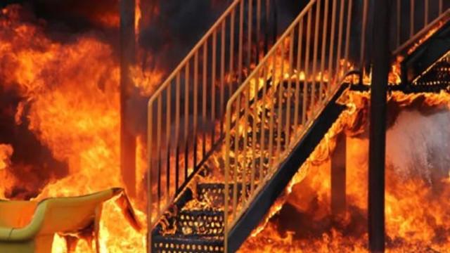 Çocuk parkını ateşe vermişlerdi... Serbest bırakıldılar !