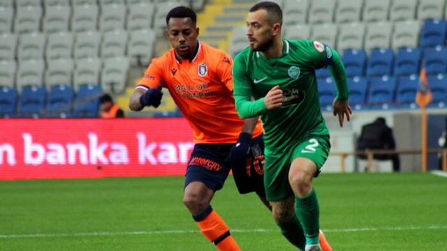 ÖZET | Medipol Başakşehir: 1 - GMG Kırklarelispor: 1 maç sonucu