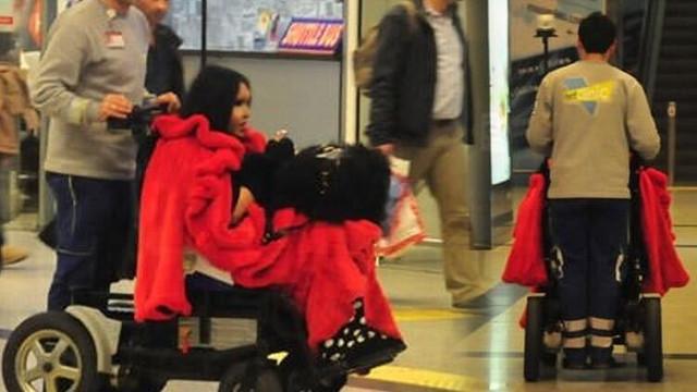 Bülent Ersoy havalimanını birbirine kattı