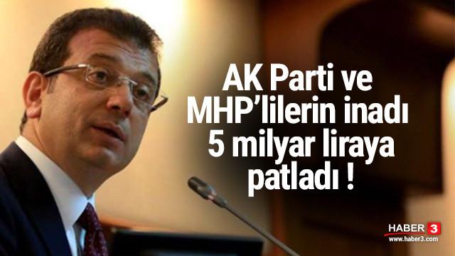 İBB Sözcüsü Murat Ongun belediyenin uğratıldığı zararı açıkladı