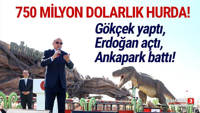 Gökçek'in Ankapark'ı artık batık park!