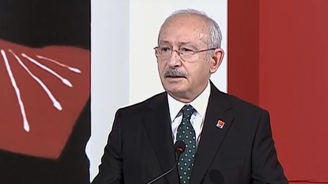 Kılıçdaroğlu: ''Mutfakta yangın var; Saray'ın mutfağı hariç''