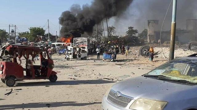 Somali'de Türk müteahhitlere bombalı saldırı !