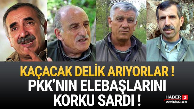 PKK'lı teröristlerin lider kadrosunu korku sardı !