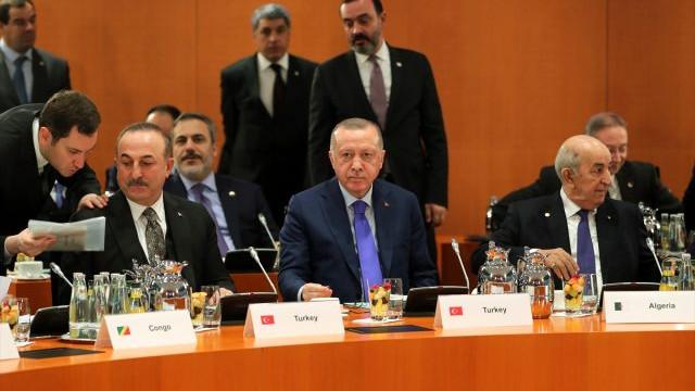 Erdoğan, Berlin'den erken ayrıldı ! İşte perde arkası