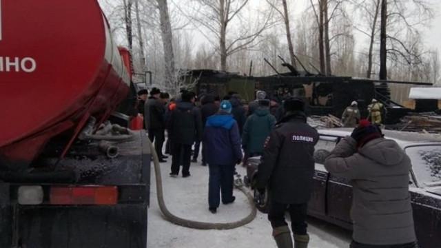 Rusya'da facia: 11 kişi yanarak can verdi