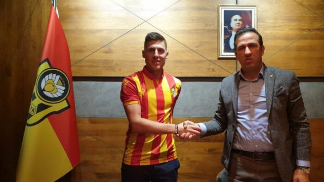 Yeni Malatyaspor'da Remi Walter imzayı attı